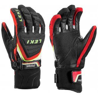 Leki rękawice męskie Race Coach C-Tech black/red