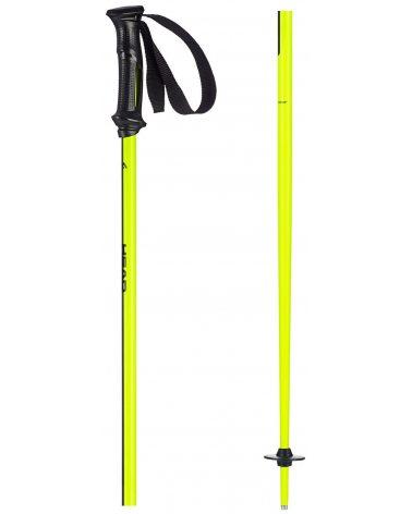 Head kijki narciarskie męskie Multi Neon Yellow