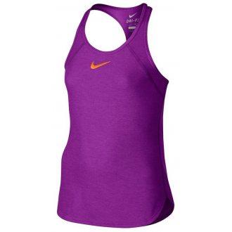 Nike Koszula tenisowa dziewczęca SLAM TANK YTH