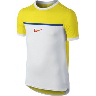 Nike Koszulka tenisowa chłopięca NIKE CHALL PREM R