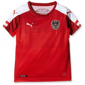 PUMA Koszulka piłkarska junior FAN Trikot Austria