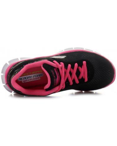 SKECHERS Buty sportowe Serengeti Blk/Neon/Pink