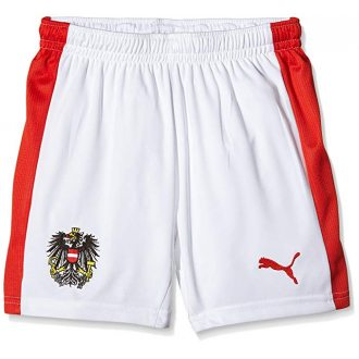 PUMA Spodenki piłkarskie Austria Home Kids Short
