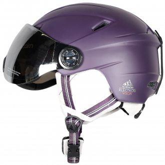 Cairn Kask narciarski Electron Visor violet