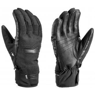 Leki rękawice narciarskie Cerro S black
