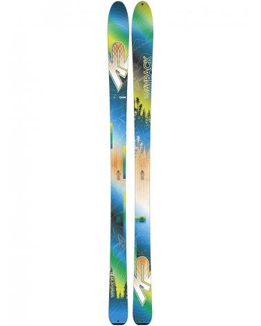 Narty K2 Wayback 82 bez wiązań 181 cm