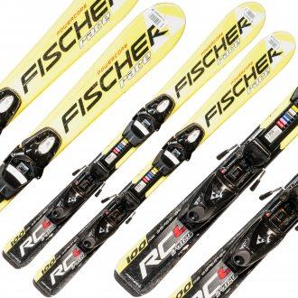 Narty Fischer Powercore Race wiązanie Fischer 100