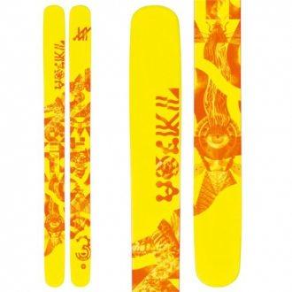 Narty Volkl Three bez wiązań 186 cm