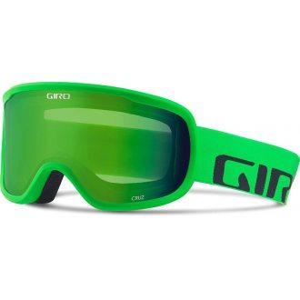 Gogle Giro Cruz Bright Green Wordmark S2  Green