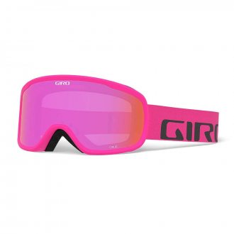 Gogle Giro Cruz Bright Pink Wordmark S2