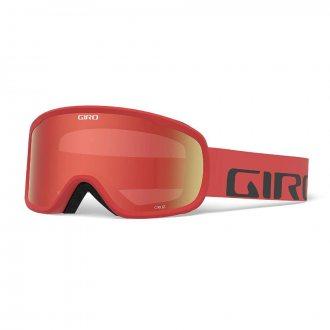 Gogle Giro Cruz Red Wordmark S2