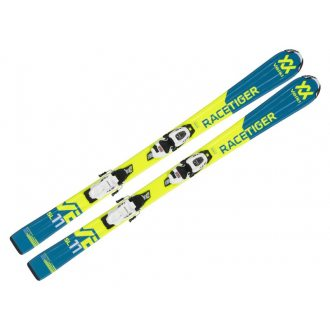 Narty Volkl Racetiger Yellow Jr 3Motion 7.0 80 cm