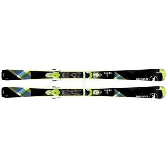 Rossignol damskie Famous 2/Xpress W 10 Blk.Lime