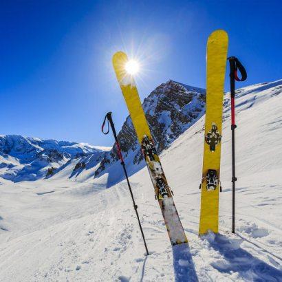 Kijki narciarskie męskie