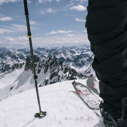 Kijki narciarskie uniwersalne