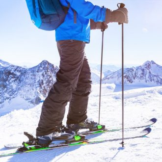Kijki narciarskie damskie