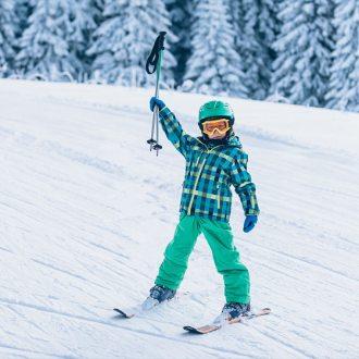 Odzież narciarska dziecięca