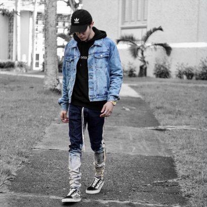 Odzież streetwear męska