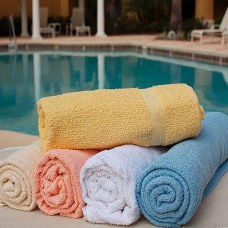 Ręczniki na basen